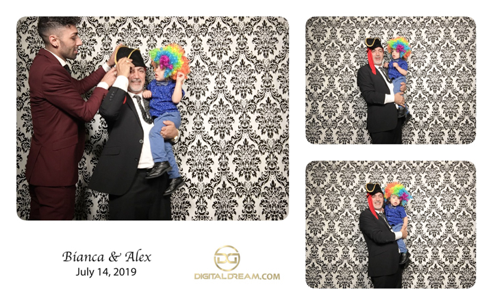 Bianca and Alex Photo Booth