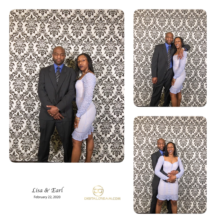 Lisa and earl Photo Booth by digital dream