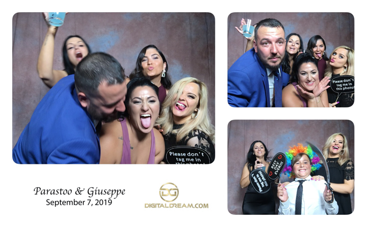 Parastoo and Giuseppe Photo Booth