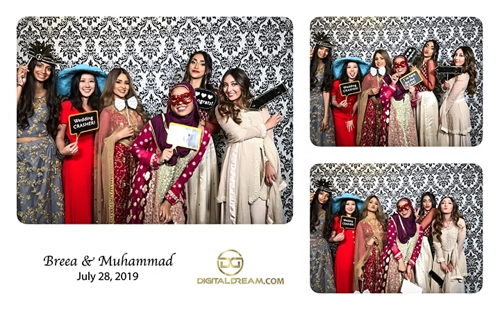 Breea and Mohammad Photo Booth
